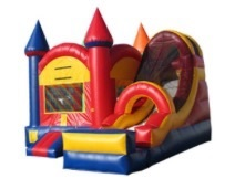 Rainbow Castle Bounce & Slide